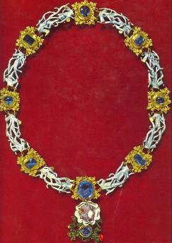 Collier aux bâtons noueux de Louis de Valois, duc d'Orléans